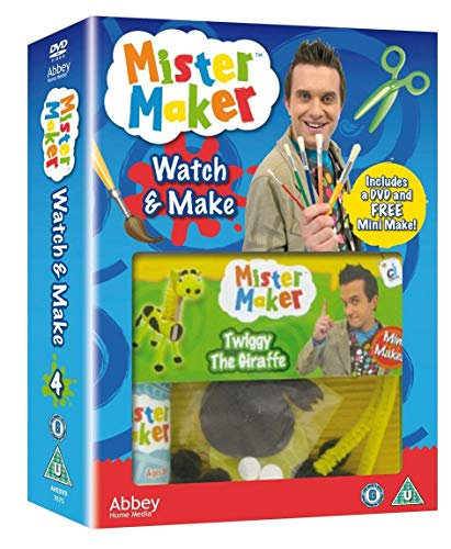 Mister Maker - Watch & Make 4 with FREE Mini Make Gift [DVD]
