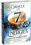 YQRX Oracle de Las 7 energías, 78 Tarjetas de Tarot, usadas para...