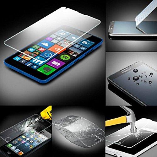MPG Panzerglas Schutzfolie für Nokia Microsoft Lumia 730, Folie Schutzfolie Panzerglasfolie für Nokia Microsoft Lumia 730