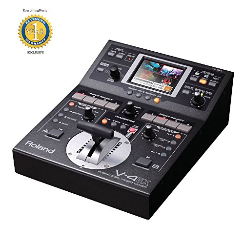 Roland V-4EX 4-Kanal-Digital-Video-Mixer