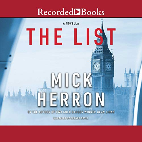 The List audiobook cover art
