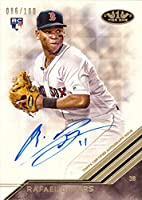 2018 Topps Tier One #BA-RD Rafael Devers Certified Autograph Baseball Rookie Card - Only 100 made!