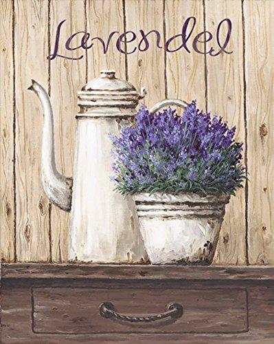 Artland Qualitätsbilder I Kunstdruck Wandbild Gemälde Bild Kunst - Größe 39 x 49 cm - Stillleben Vasen & Töpfe A1TL