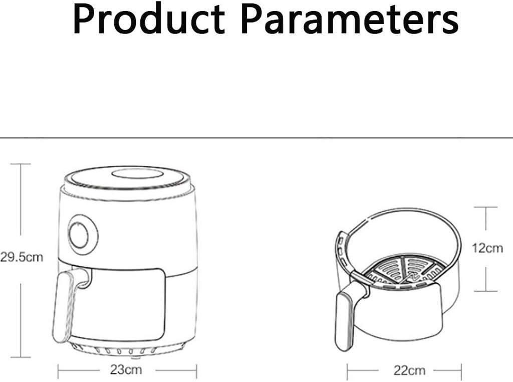 ZLDGYG Air Fryer Four, Espace économie Panier Plat, arrêt Automatique, Air Fryer Four Four avec contrôle de température (Color : B) B