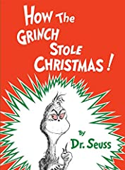 How the Grinch Stole Christmas! FIRST EDITION, 1957 Hardcover Book with Dust Jacket By Dr. Seuss Children's Christmas Book Collector's Book