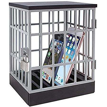 Mobile Phone Jail Cell Lock Up Box Durable Storage Container Gift Novelty Mobile Phone Box with Timer