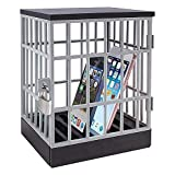 spend less time on your phone, jail for phones