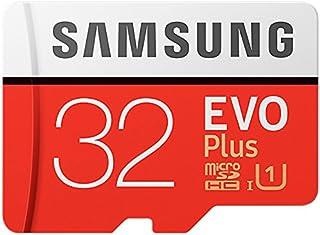 Samsung EVO Plus Micro SDHC 32GB tot 95MB/s, Class 10 U1 geheugenkaart (incl. SD-adapter) [frustratievrije Amazon-verpakking]