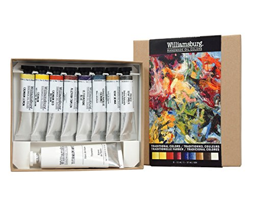 WILLIAMSBURG Traditional Oil Colors Set