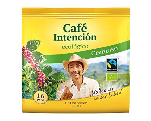 Darboven - Café Intención BIO und Fairtrade Kaffeepads ecológico Cremoso 1 x 16er