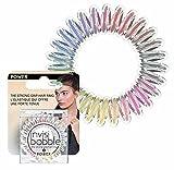invisibobble Gomas de pelo Power Magic Rainbow I 3 gomas de pelo de colores para cabello grueso, estilo de vida activo y deporte I agarre extra fuerte I el original, diseñado en el corazón de Múnich