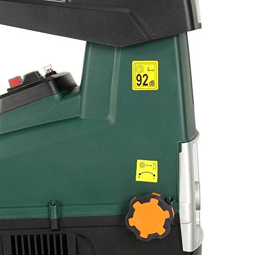 Gardebruk Biotrituratore elettrico Silenzioso 2800W triturare rami con un diametro di max. 44mm con 2X Contenitore da raccolta da 60L Trituratori da giardino Cippatore Trita Legno