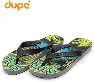 Dupe Grey Flip Flop Thong Design Slipper for Mens