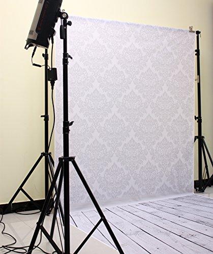 NIVIUS PHOTO 150 * 300cm GRAU Holz Plank gedruckt Indoor Foto kulissen Thin Vinyl Hintergrund für Studio Kinder Baby Fotografie hintergründe D-9900