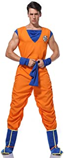SHIXUE Role Play Costume Costume Props for Adults Dragon Ball Z Anime Cosplay Son Goku,M