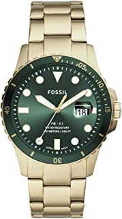 Fossil Men's FB-01 Stainless Steel Dive-Inspired Casual Quartz Watch