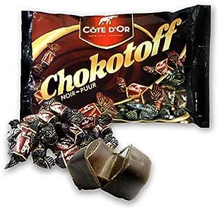 Chokotoff Costa dor- toffees cubierto con delicioso chocolate negro belga - bolsa de 17,6 oz / 500g