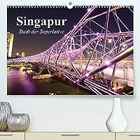 Singapur. Stadt der Superlative (Premium, hochwertiger DIN A2 Wandkalender 2022, Kunstdruck in Hochglanz): Asiens schoenste Metropole (Monatskalender, 14 Seiten )