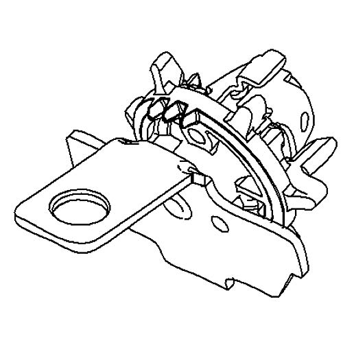 Briggs & Stratton 593913 Slinger Genuine Original Equipment Manufacturer (OEM) Part
