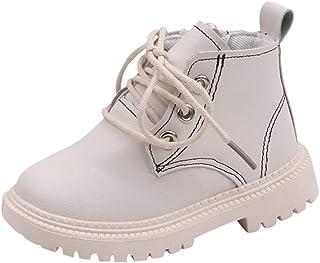 WEXCV Uniseks babylaarzen winterlaarzen warme laarzen voor baby's meisjes casual laarzen effen prinses booties schoenen