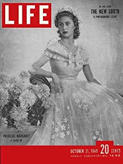 LIFE Magazine - October 31, 1949 Cover: Black and white photo of Princess Margaret
