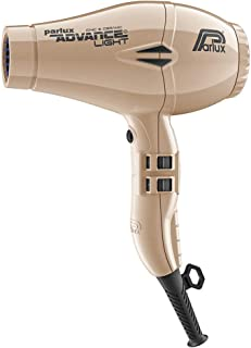 Parlux Advance Light Ionic & Ceramic Dryer 2200W - Light Gold , Multi color, 1035 g, Pack of 2
