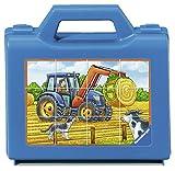 Ravensburger Kinderpuzzle 07432 - Fahrzeuge auf dem Bauernhof - 12 Teile Würfelpuzzles
