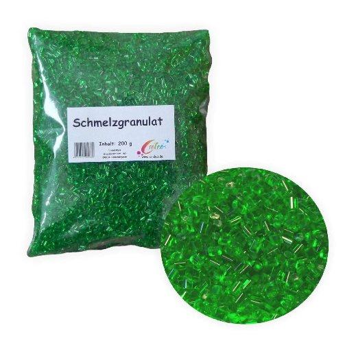 Creleo Schmelzgranulat - Schmelzolan 200g grün