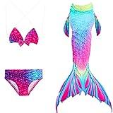 Das beste niedlich Mädchen Meerjungfrauen Bikini Kostüm Meerjungfrau Schwimmanzug Badeanzüge...