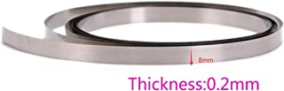 Pure Nickel Strip,10m (1Roll) of 0.2x8mm Nickel Tap for 18650 26650 32650 AA Cell Battery Pack Spot Welding