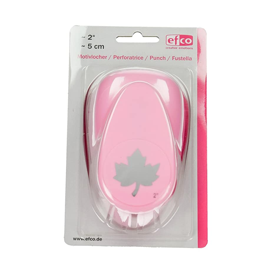Efco Maple Leave Punch, Pink, X-Large, 48 x 44 mm