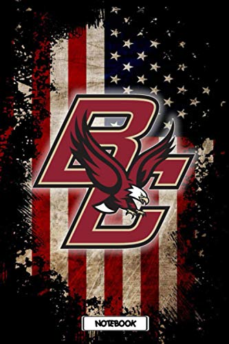 NCAA Notebook : Boston College Eagles School Timetable Notebook Gift Ideas for Sport Fan , Home or Work #17