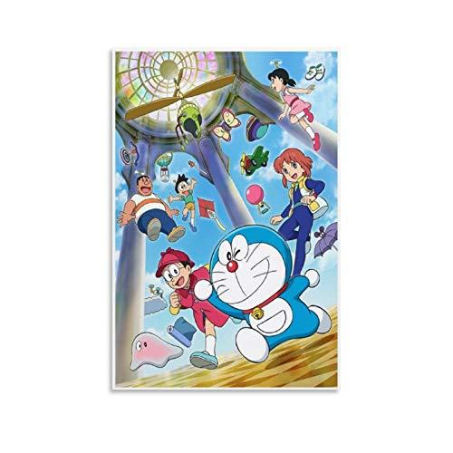DHSJ Póster de anime Nobita para habitación de 50 x 75 cm