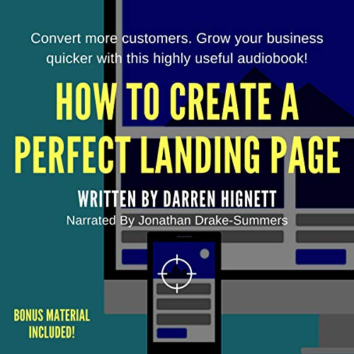 How to Create a Perfect Landing Page Audiobook By Darren Hignett cover art