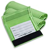 Lewis N. Clark 3-Pack Luggage ID Handle Wrap, Green, One Size...