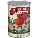Muir Glen Organic No Salt Added Tomatoes, 15 oz (Pack of 12)