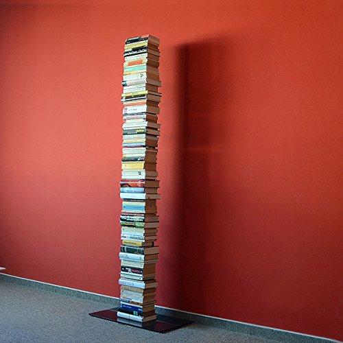 Radius Design booksbaum Single Stand Gross schwarz, 3tlg. Best.aus: Halterung + Fuß + Einlegeböden [W]