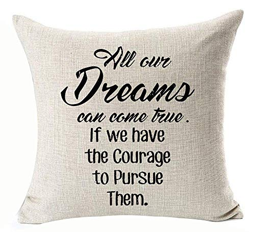 "16X16/"" pouces coton Decorative Throw Pillow Case Sofa Cushion Cover Home Décor"