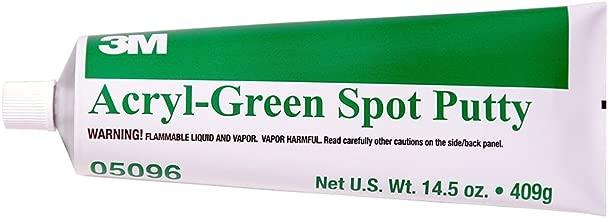 3M 05096 Acryl-Green Spot Putty Tube - 14.5 oz.