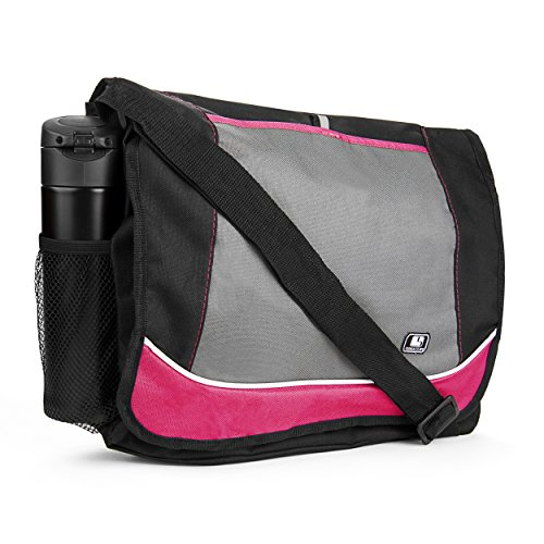 Laptop Messenger Shoulder Bag for Lenovo Flex 15, ThinkPad, Yoga 730, Chromebook
