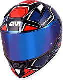 GIVI 50.6 Sport Deep Limited Edition Casco azul/rojo XL (61)