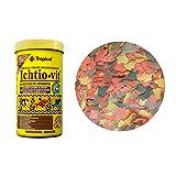 Tropical Fish Fichtio - Vit Flakes Multi-Ingredientes Para Peces(lata de 100 ml/20 g)