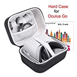 Case for Oculus Go, Hard EVA Carry Bag Storage Box for VR Oculus Go Standalone Virtual Reality...