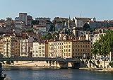 CALVENDO Frankreich - Lyon, Poster DIN A2 quer, Bilder,