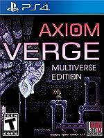 Axiom Verge Multiverse Edition PlayStation 4 マルチワールドエディションプレイステーション4 北米英語版 [並行輸入品]