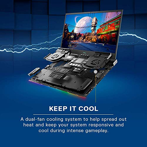 Dell G7 7500 15.6 Inch FHD Gaming Laptop (10th Gen i7-10750H /16 GB/1TB SSD/Nvidia RTX 2060 6GB Graphics/ 1Yr Premium / Win 10 + MS Office H&S 2019) D560232WIN9B