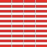 20 Stück 3,2cm Österreich Flagge Fahne RC Modellbau Mini Aufkleber Sticker Modellbauaufkleber