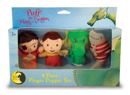 Puff, the Magic Dragon Finger Puppets