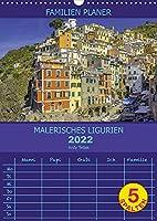 Malerisches Ligurien (Wandkalender 2022 DIN A3 hoch): Mit guter Laune nach Ligurien (Familienplaner, 14 Seiten )