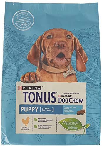 Purina Tonus Dog Chow Puppy - Pienso para Perro con Pollo, 4 Bolsas de 2,5 kg